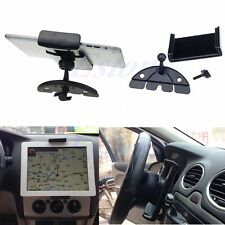 Auto Car CD Mount Tablet PC Cradle Holder Stand For iPad 2/3/4/5 Air Galaxy Tab
