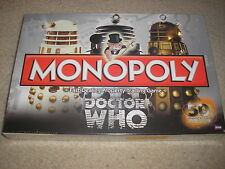 New Monopoly Doctor Who 50th Anniversary Collector's Edition