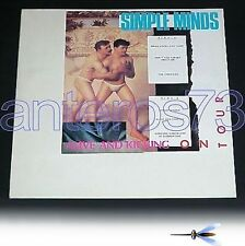 "SIMPLE MINDS ""ALIVE AND KICKING ON TOUR"" RARE 12"""