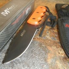 """8"""" M-TECH Survival Tactical EMT FIXED BLADE KNIFE Army Bowie w/ SHEATH"""
