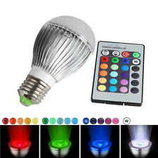 16 Color Change RGB 30W E27 LED Magic Light Bulb Lamp + IR Remote Control