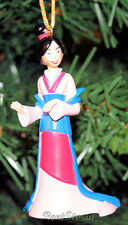 NEW Disney Chinese Princess MULAN Kimono Outift Christmas Holiday Ornament PVC