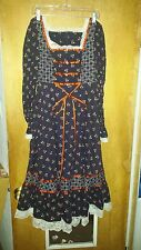 70s Vintage Gunne Sax Dress S Vintage Peasant  Boho Prairie see measurements