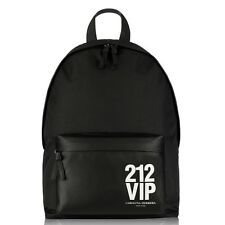 DESIGNER BACKPACK CAROLINA HERRERA BLACK MENS LARGE RUCKSACK SPORTS BAG WORK NEW
