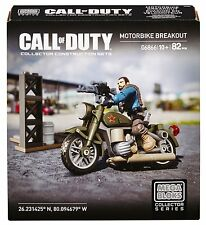 Mega Bloks Call Of Duty DCL03 Motorbike Breakout - NEU/OVP - NEW IN BOX