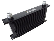 Motamec Oil Cooler 19 Row - 235mm Matrix -12 AN JIC - Black Alloy