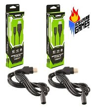2x New 6 Ft. Breakaway Extension Controller Cable - Original Microsoft Xbox