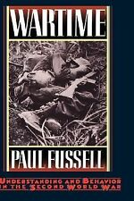 Wartime : Understanding and Behavior in the Second World War by Paul Fussell (19