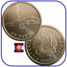 "2013 SBSS ""Peace on Earth"" Silver Coin - Silver Bullet Silver Shield in airtite"