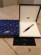 Mont Blanc Blue Hour Classique Fountain Pen 112892