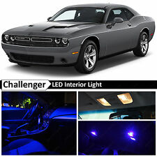 11x Blue Interior LED Lights Package Kit 2015 Dodge Challenger