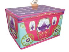 Princess Carriage Coach Large Jumbo Pop Up Toys Bedding Kids Storage Chest Box