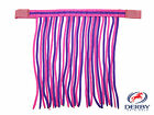 Qty. 3 Derby Originals Double Color Horse Fly Veils / Fringes Full Mini & Pony