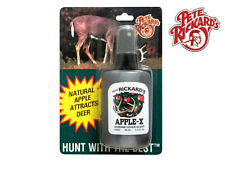 PETE RICKARD - NEW HUNTING 2 OZ. APPLE SCENT WHITETAIL  DEER HUNTING LURE