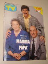 TV SORRISI CANZONI=1988/44=MARCO COLUMBRO=ENRICO RUGGERI=BENIGNI PICCOLO DIAVOLO