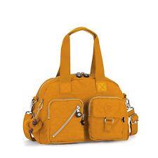 Kipling Defea Shoulder/Handbag/Cross Body Bag OCHRE HPS2016/17  RRP £79