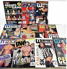 10 Lot PRO WRESTLING Illustrated 2009 Aries Sapolsky Mickie James Santino Hardy