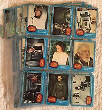 "STAR WARS 1977 Topps Series 1 ""BLUE SERIES"" Set 1-66 Wax Packs"