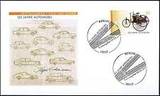 BRD 2011: Automobil 125 Jahre! FDC der Nr 2867 mit Berliner Sonderstempeln! 155