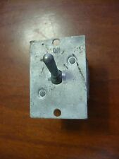 VINTAGE AIRCRAFT PRIMARY POWER TOGGLE SWITCH, 75A, CUTLER-HAMMER 8701K3 AC/DC