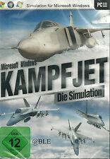 CD-ROM + Kampfjet + Jet + Die Simulation + Flugzeug + Waffensysteme + Win 8 +
