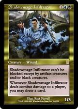 SHADOWMAGE INFILTRATOR Odyssey MTG Gold Creature — Human Wizard RARE