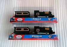 New Boxed Thomas & friend train trackmaster Battery Douglas and Donald