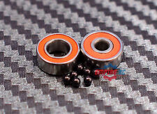 ABEC-7 [2 PCS] SMR115C-2OS (5x11x4 mm) 440c Stainless Steel CERAMIC Ball Bearing