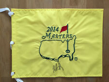 Bubba WATSON SIGNED AUTOGRAPH 2014 Golf Flag Masters Winner Augusta AFTAL COA