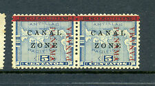 Canal Zone Scott #12a Antique 'CANAL'  and Another Variety (Stock #CZ12-42)