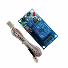 DC12V Light Control Switch Photodiode with Relay Module and Probe(dark detect)