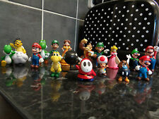 SUPER MARIO BROS AND FRIENDS TOY FIGURE SET 18 PCS NEW UK SELLER