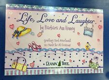 "Leanin Tree Greeting 20 Greeting Card  Assortment "" Life, Love & Laughter """