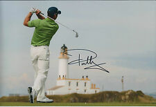 Paul CASEY SIGNED Autograph 12x8 Photo AFTAL COA Shell Houston Open Winner GOLF