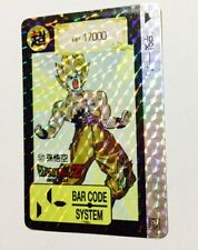 Carte dragon ball - Barcode system card data system prism 527 version Korea