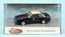White Rose 1991 Ford Mustang Kansas Highway Police Patrol Diecast 1/43 Sealed