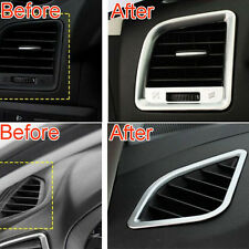4Pcs Interior AC Air Conditioning Dashboard Vent Trim cover For CX5 2013-2016