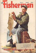 The Fisherman July 1955 Tautog, The Killifish w/ML 042817nonDBE
