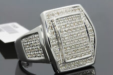 .70 CARAT MENS WHITE GOLD FINISH DIAMOND ENGAGEMENT WEDDING PINKY BAND RING