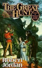 The Great Hunt (The Wheel of Time, Book 2), Robert Jordan, Good Condition, Book