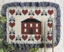 Hearts & Home Wallhanging/Placemats Plastic Canvas Pattern