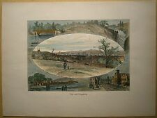 1884 print TROY AND VICINITY, NEW YORK STATE (#22)