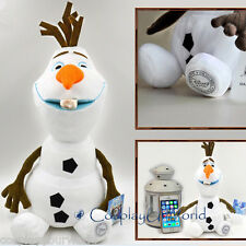 Disney Frozen 12'' Olaf the Snowman Soft Stuffed Doll Plush Toy Gift Collectible
