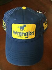 2010 Dale Earnhardt Jr & Sr #3 WRANGLER Jeans Patch hat cap NEW NWT