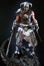 Gaming Heads Skyrim Elder Scrolls V Dovahkiin the Dragonborn Statue Mint in Box