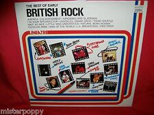 The Best of Early BRITISH ROCK LP 1980 ITALY MINT- Small Faces Mayall Jeff Beck