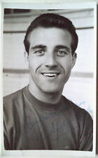 RON SPRINGETT Q.P.R SHEFFIELD WED & ENG SIGNED POSTCARD