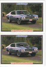 1970 Chevy Chevelle SS454 baseball card sized cards - Must See!! - lot of 2