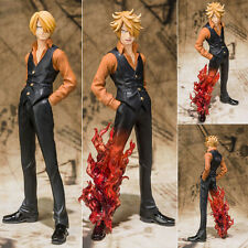 Collections Anime Figure Toy One Piece Sanji Figurine Statues 15cm