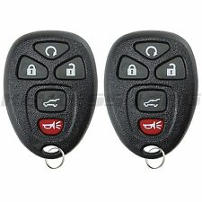 2 New Keyless Entry Remote Start Control Key Fob For 15913415